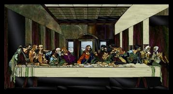 DaVinci Last Supper Pattern