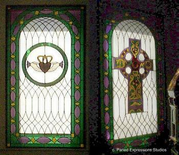 Custom Stained Glass Windows Etched Glass And Art Glass