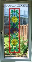 Victorian Window Cling