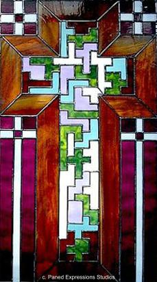 Tessellated Cross-NW Washington State Chapel Parlor