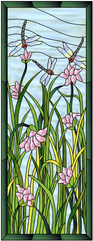 Free Stained Glass Patterns Craft Patterns Full Size Designs