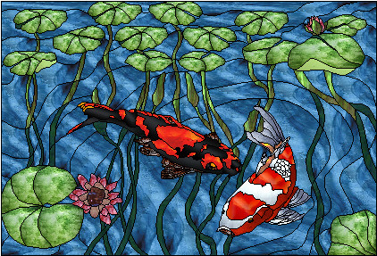 STAINED GLASS FISH PATTERNS | Browse Patterns