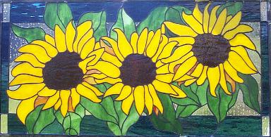 Sunflower Transom-25-5/8 x 13