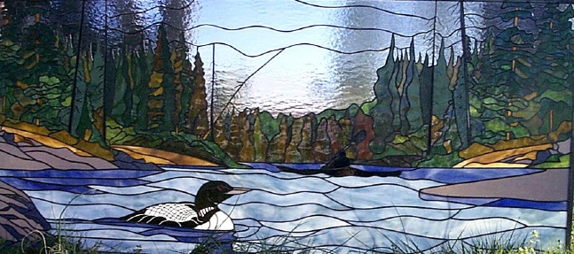 Loon Lake Stained Glass