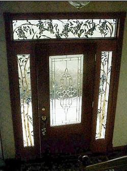Custom stained glass windows, etched glass and art glass ...