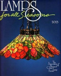 ASGLA Stained Glass Lamp Calendar 2013