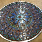 Stained Glass Mandala Repair