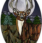 "Animal-8-Point-Buck from ""Nature's Bounty"" CD © Paned Expressions 1999"
