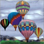 Hot Air Balloons © Paned Expressions 2015