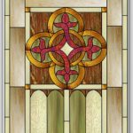 Celtic Knot Stained Glass Pattern © 2008 Paned Expressions Studios